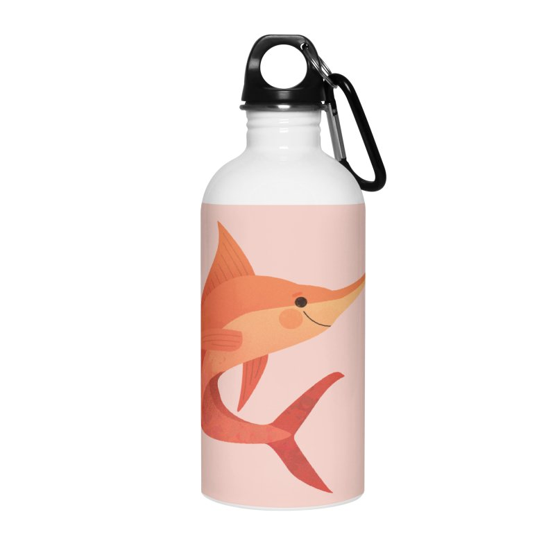 Marlin Accessories Water Bottle by theladyernestember's Artist Shop