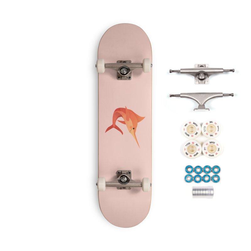 Marlin Accessories Complete - Premium Skateboard by theladyernestember's Artist Shop