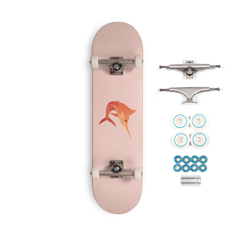 Marlin Accessories Complete - Basic Skateboard by theladyernestember's Artist Shop
