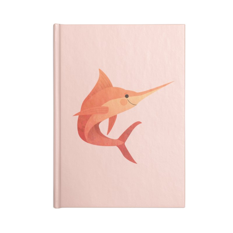 Marlin Accessories Lined Journal Notebook by theladyernestember's Artist Shop