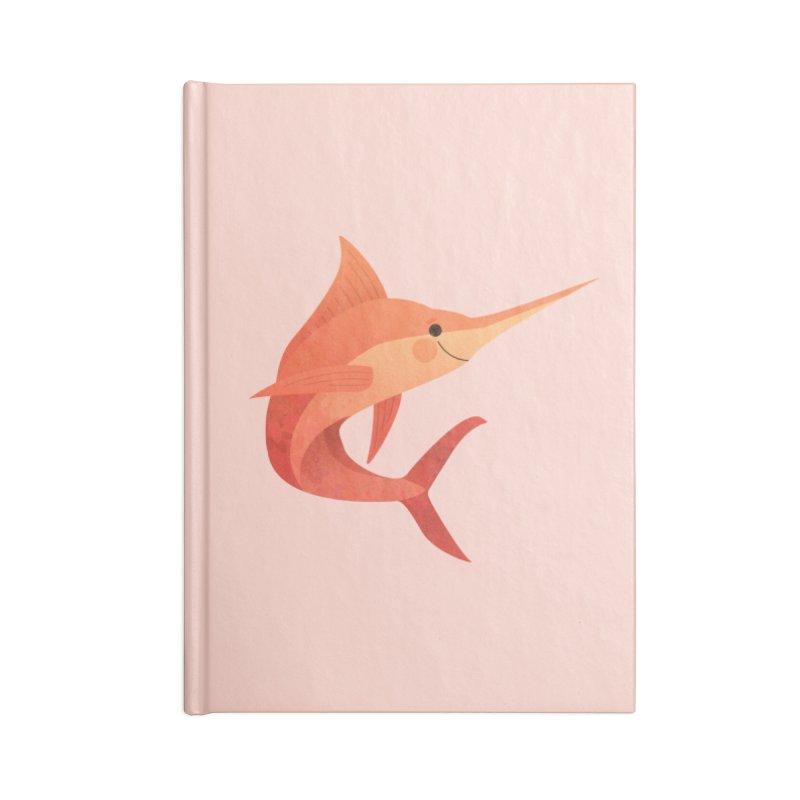 Marlin Accessories Blank Journal Notebook by theladyernestember's Artist Shop