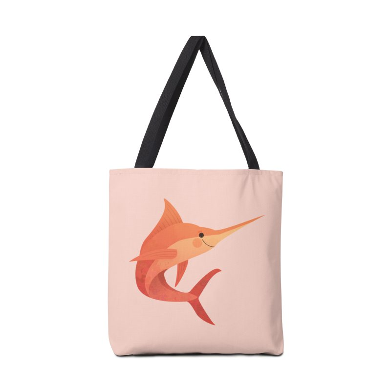 Marlin Accessories Tote Bag Bag by theladyernestember's Artist Shop