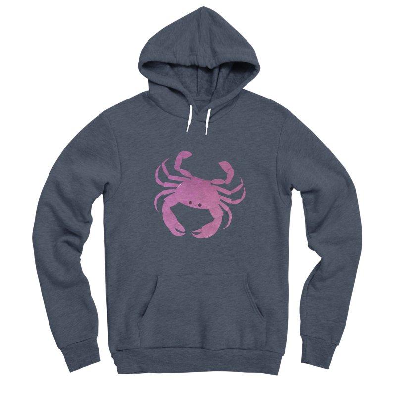Crab Men's Sponge Fleece Pullover Hoody by theladyernestember's Artist Shop