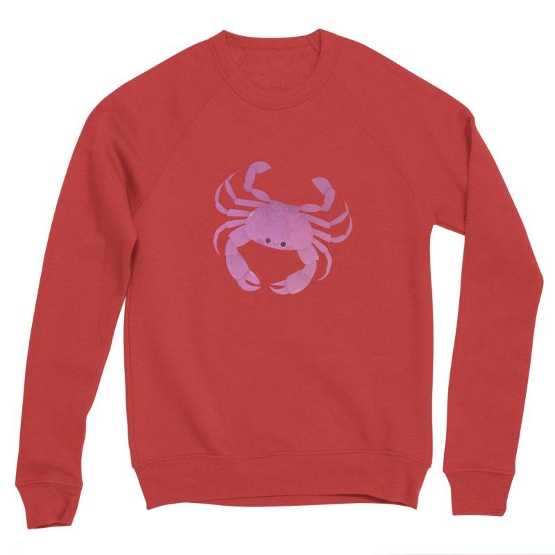Crab Men's Sponge Fleece Sweatshirt by theladyernestember's Artist Shop