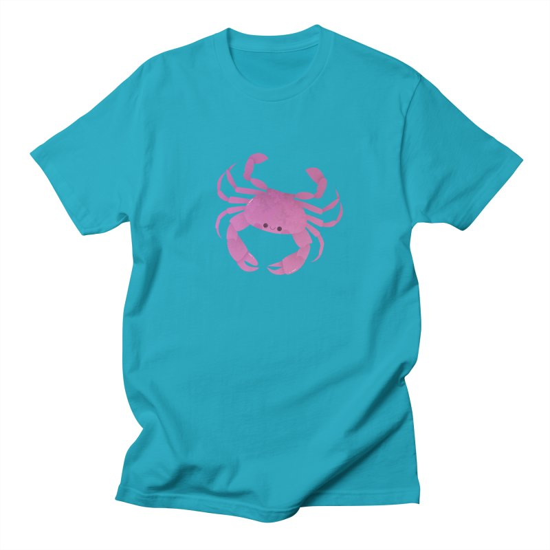 Crab Men's Regular T-Shirt by theladyernestember's Artist Shop