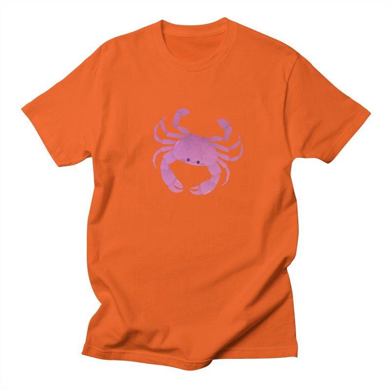 Crab Women's Regular Unisex T-Shirt by theladyernestember's Artist Shop