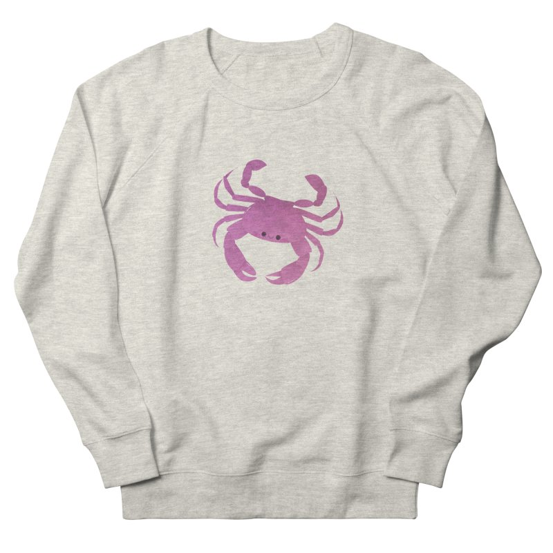 Crab Women's French Terry Sweatshirt by theladyernestember's Artist Shop