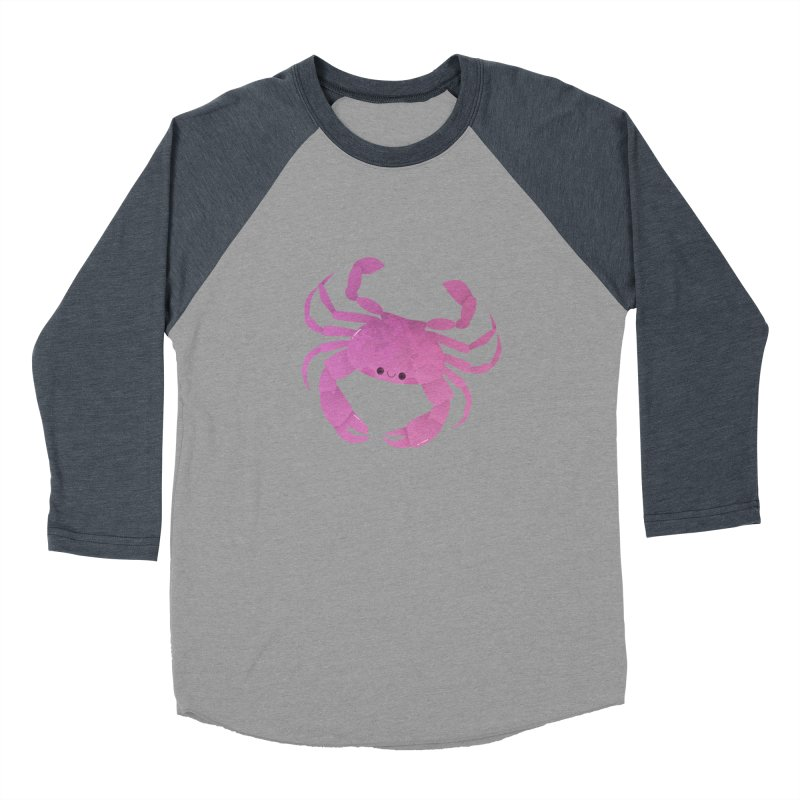 Crab Women's Baseball Triblend Longsleeve T-Shirt by theladyernestember's Artist Shop