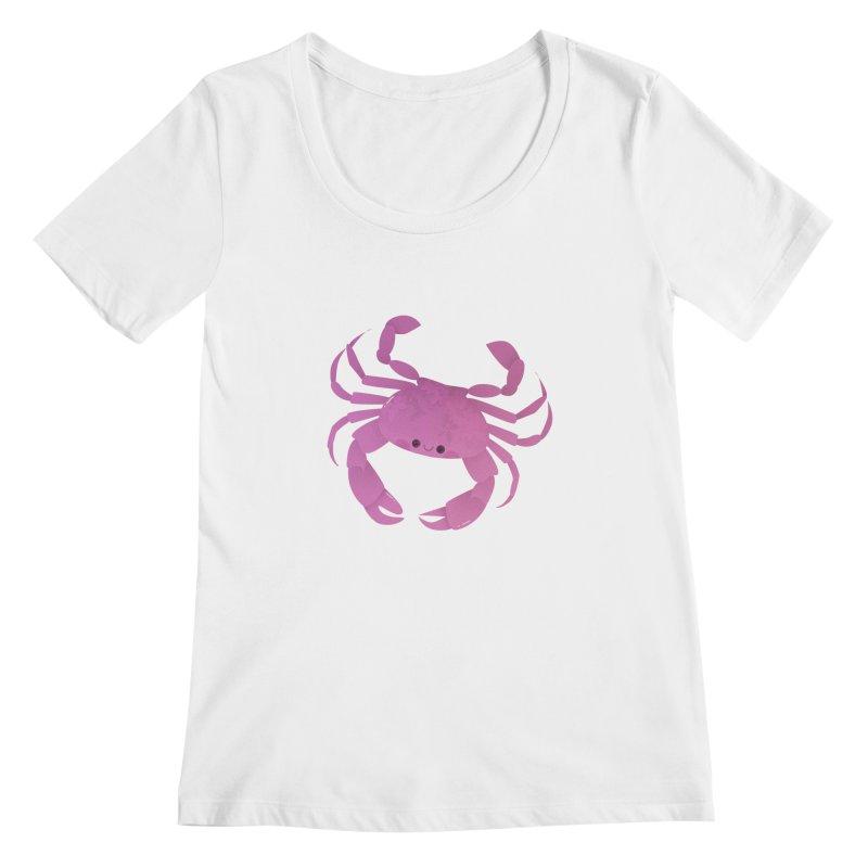 Crab Women's Regular Scoop Neck by theladyernestember's Artist Shop