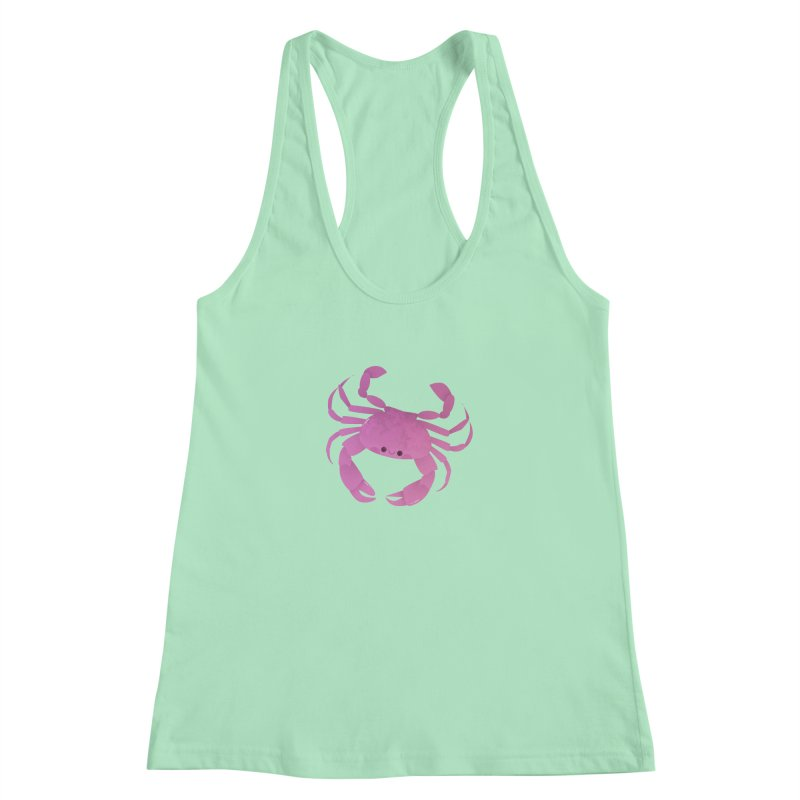 Crab Women's Racerback Tank by theladyernestember's Artist Shop