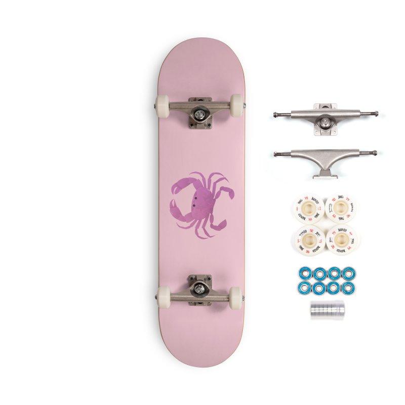 Crab Accessories Complete - Premium Skateboard by theladyernestember's Artist Shop