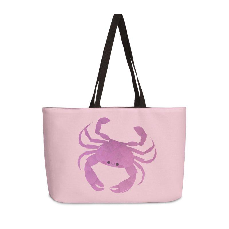 Crab Accessories Weekender Bag Bag by theladyernestember's Artist Shop