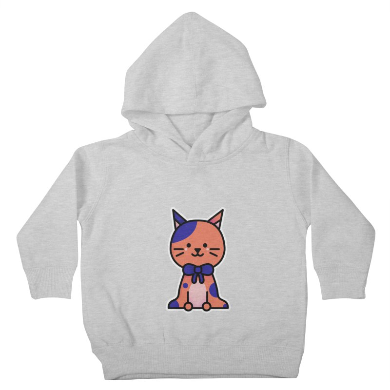 Cat Kids Toddler Pullover Hoody by theladyernestember's Artist Shop