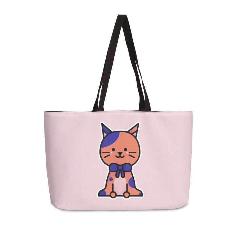 Cat Accessories Weekender Bag Bag by theladyernestember's Artist Shop