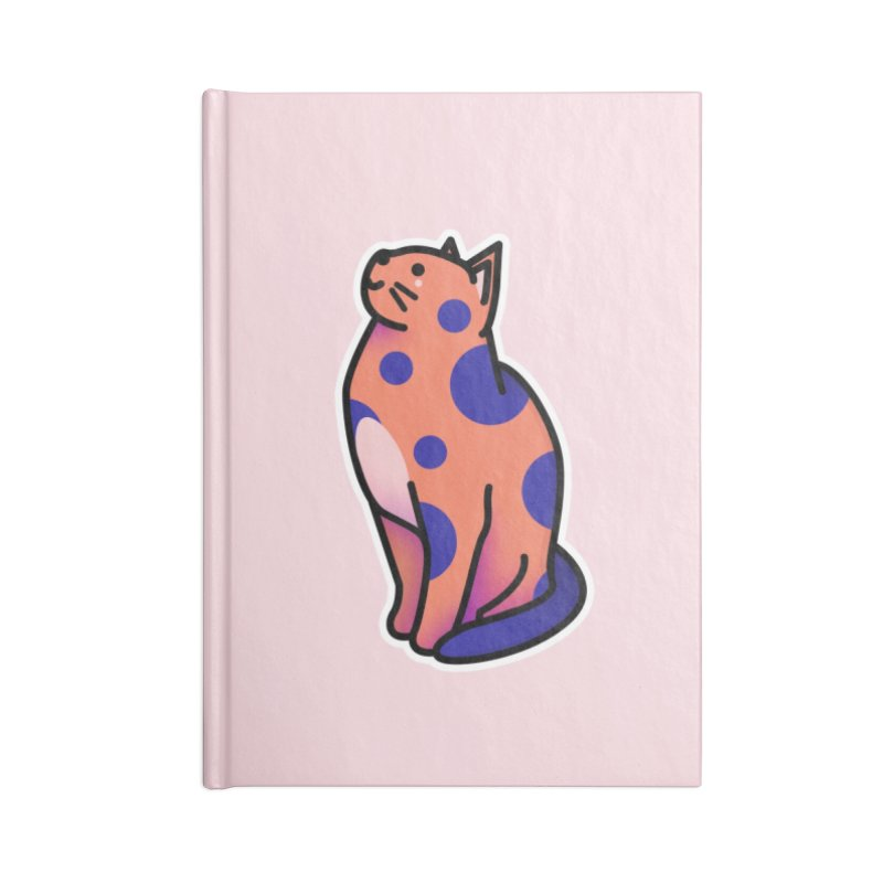 Cute cat Accessories Lined Journal Notebook by theladyernestember's Artist Shop