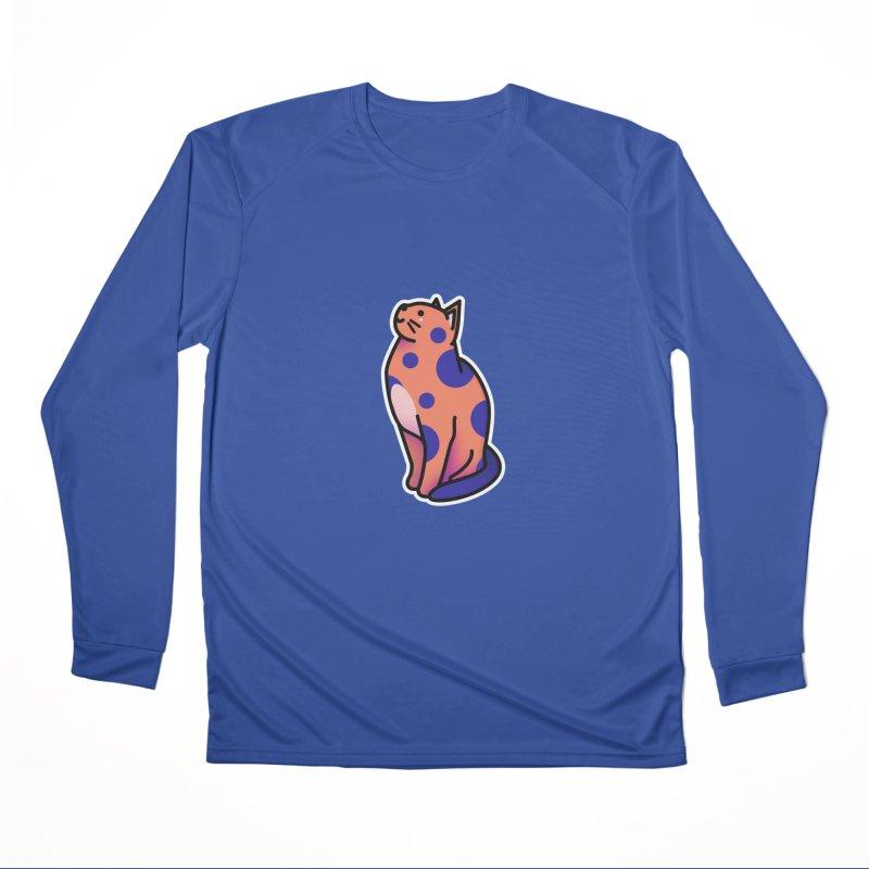 Cute cat Men's Performance Longsleeve T-Shirt by theladyernestember's Artist Shop