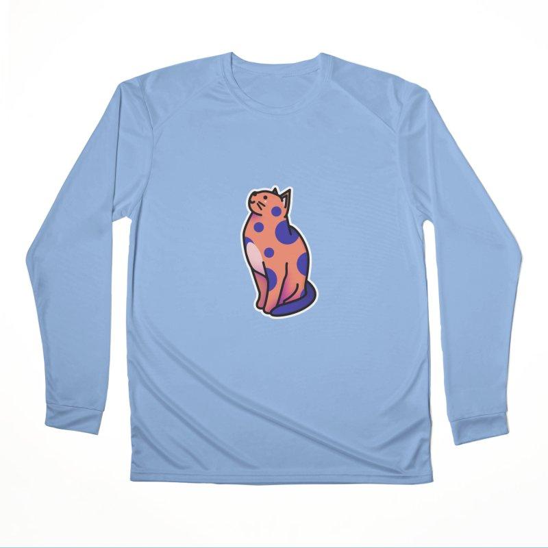 Cute cat Women's Performance Unisex Longsleeve T-Shirt by theladyernestember's Artist Shop