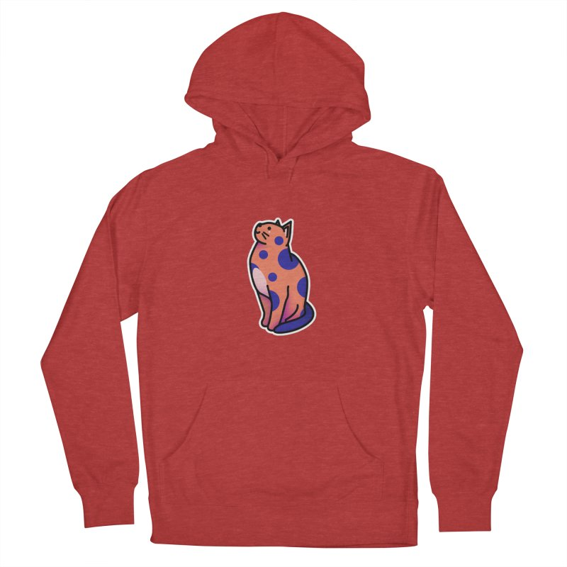 Cute cat Women's French Terry Pullover Hoody by theladyernestember's Artist Shop
