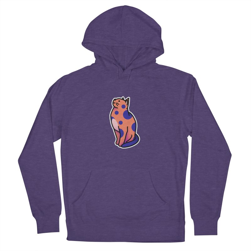 Cute cat Men's French Terry Pullover Hoody by theladyernestember's Artist Shop