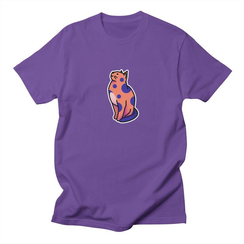 Cute cat Women's Regular Unisex T-Shirt by theladyernestember's Artist Shop
