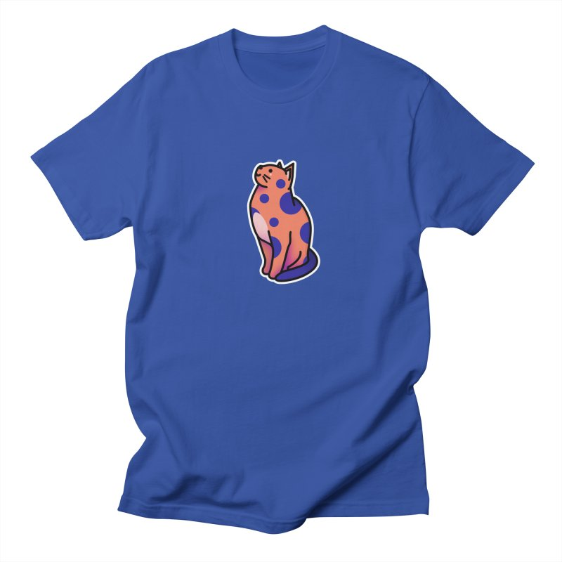 Cute cat Men's Regular T-Shirt by theladyernestember's Artist Shop