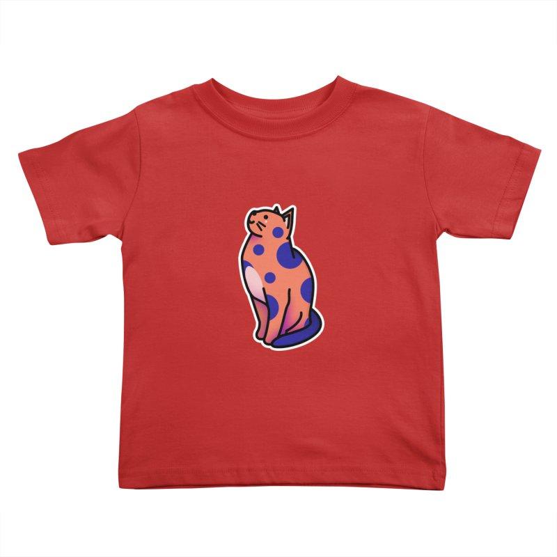 Cute cat Kids Toddler T-Shirt by theladyernestember's Artist Shop