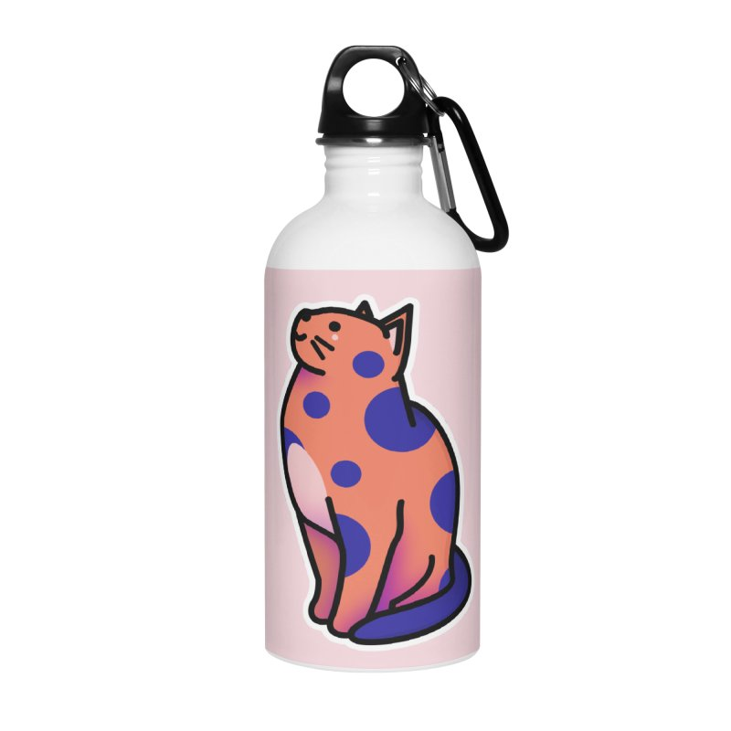 Cute cat Accessories Water Bottle by theladyernestember's Artist Shop