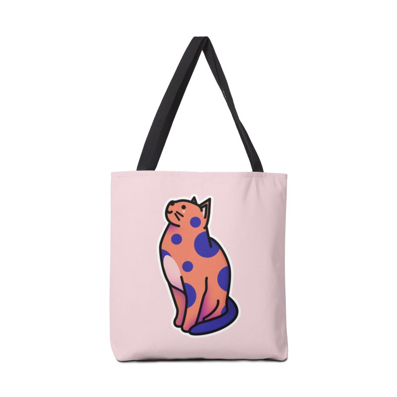 Cute cat Accessories Tote Bag Bag by theladyernestember's Artist Shop