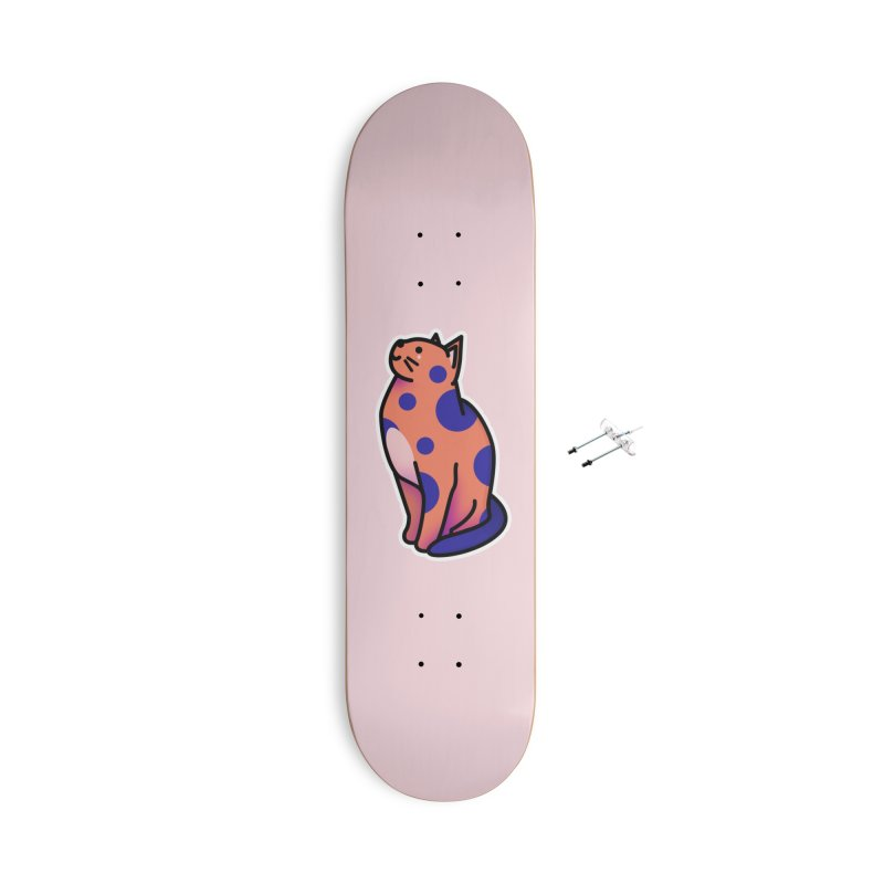 Cute cat Accessories With Hanging Hardware Skateboard by theladyernestember's Artist Shop