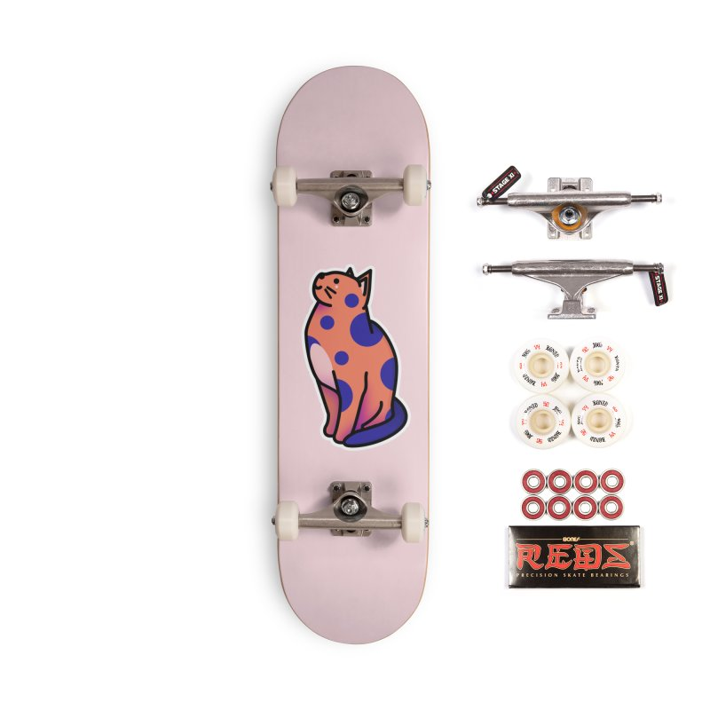 Cute cat Accessories Complete - Pro Skateboard by theladyernestember's Artist Shop
