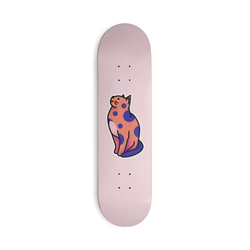 Cute cat Accessories Deck Only Skateboard by theladyernestember's Artist Shop