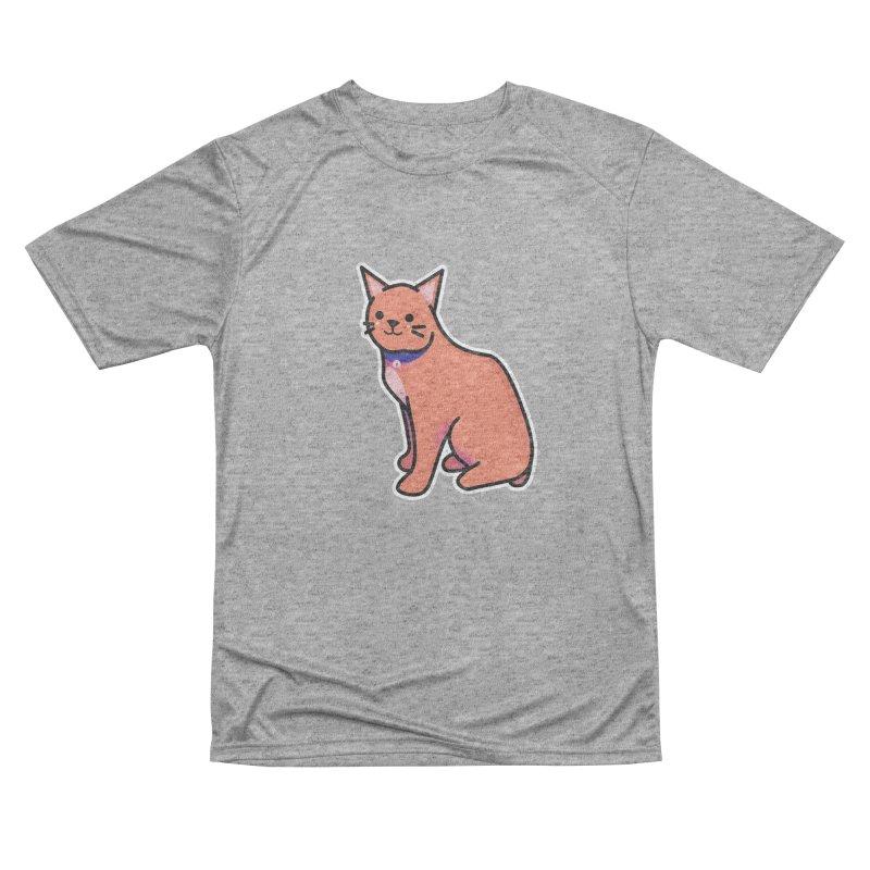 Cat Men's Performance T-Shirt by theladyernestember's Artist Shop
