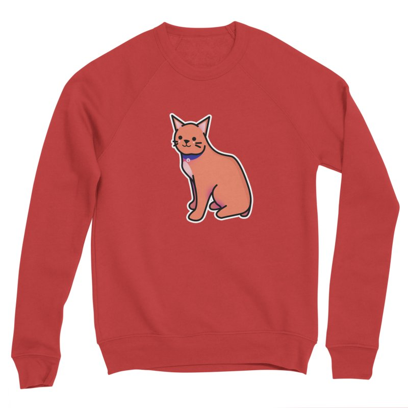 Cat Men's Sponge Fleece Sweatshirt by theladyernestember's Artist Shop