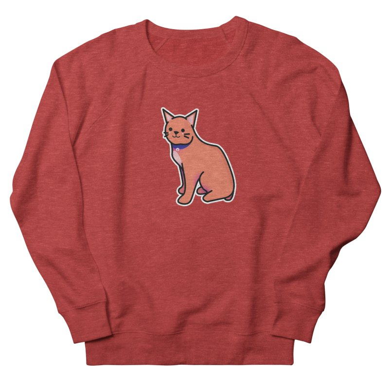 Cat Women's French Terry Sweatshirt by theladyernestember's Artist Shop