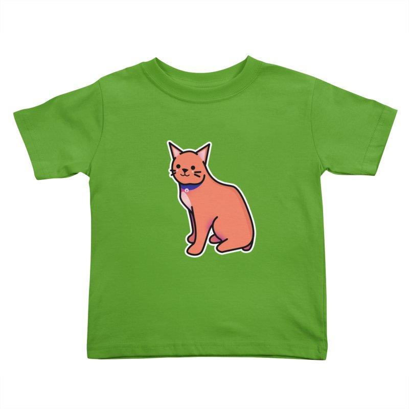 Cat Kids Toddler T-Shirt by theladyernestember's Artist Shop