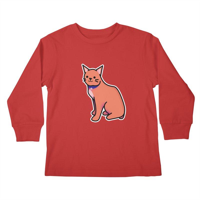 Cat Kids Longsleeve T-Shirt by theladyernestember's Artist Shop