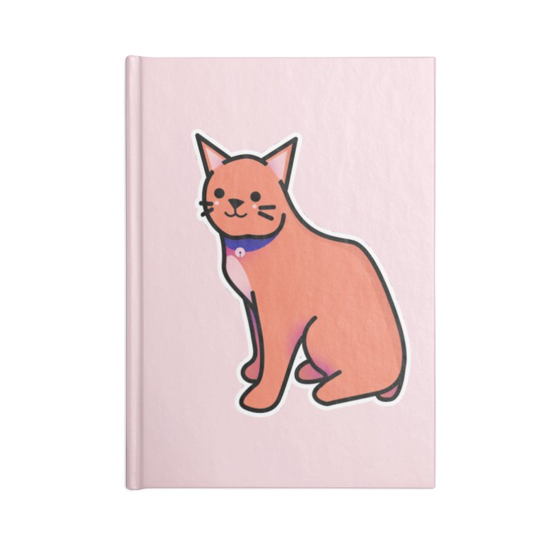 Cat Accessories Blank Journal Notebook by theladyernestember's Artist Shop