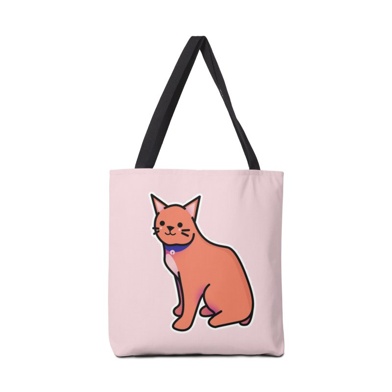 Cat Accessories Tote Bag Bag by theladyernestember's Artist Shop