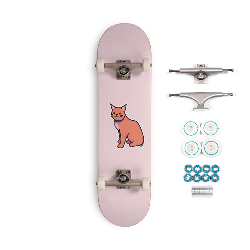 Cat Accessories Complete - Basic Skateboard by theladyernestember's Artist Shop