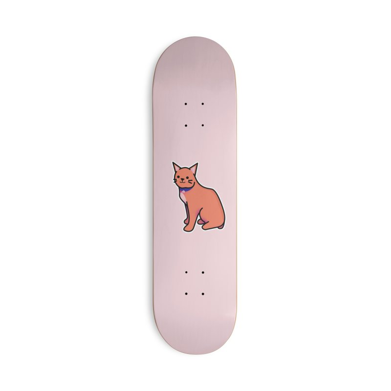 Cat Accessories Deck Only Skateboard by theladyernestember's Artist Shop