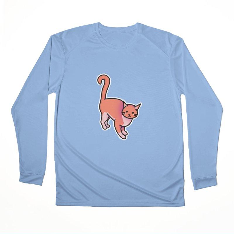 Cat Women's Performance Unisex Longsleeve T-Shirt by theladyernestember's Artist Shop