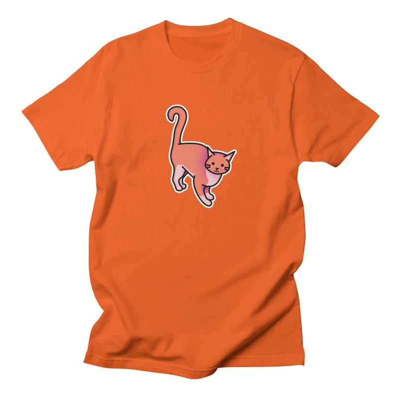 Cat Men's Regular T-Shirt by theladyernestember's Artist Shop