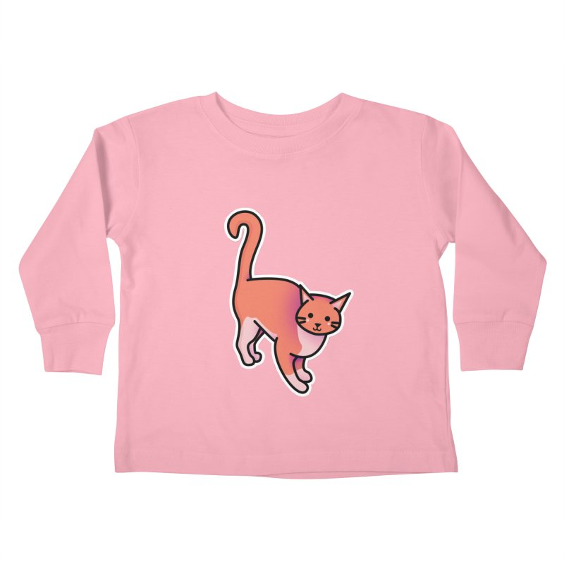 Cat Kids Toddler Longsleeve T-Shirt by theladyernestember's Artist Shop