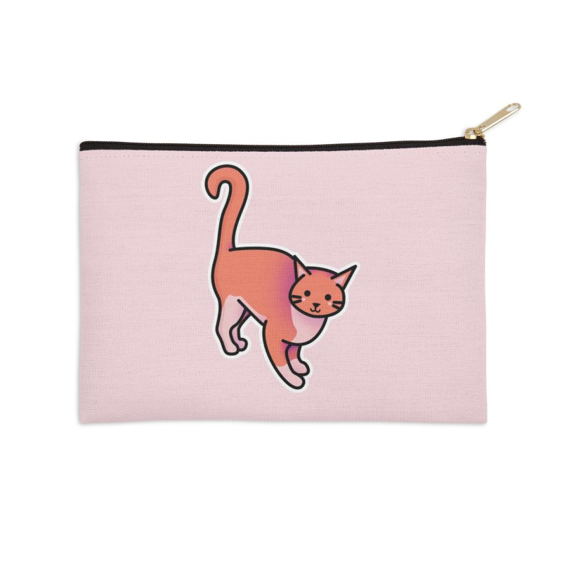 Cat Accessories Zip Pouch by theladyernestember's Artist Shop