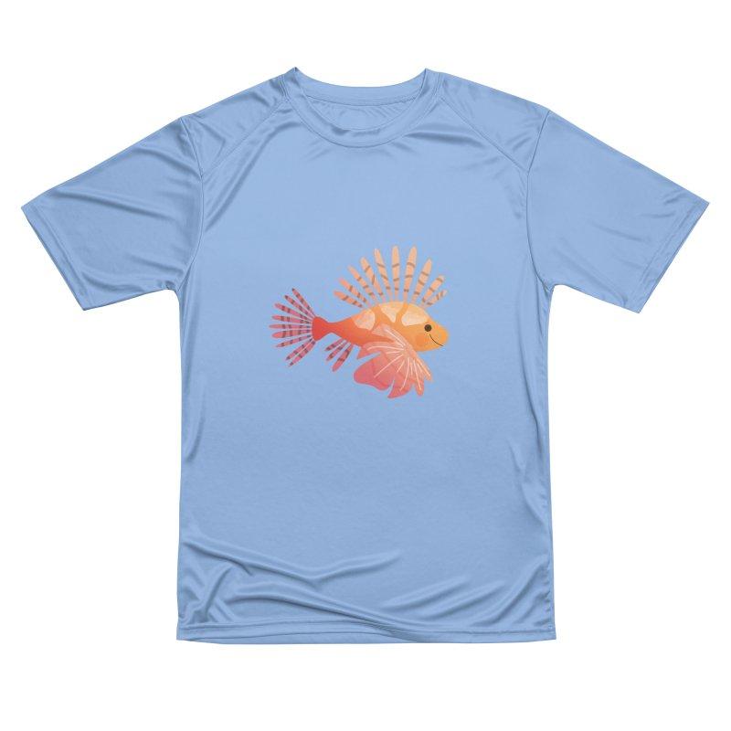 Lionfish Men's Performance T-Shirt by theladyernestember's Artist Shop