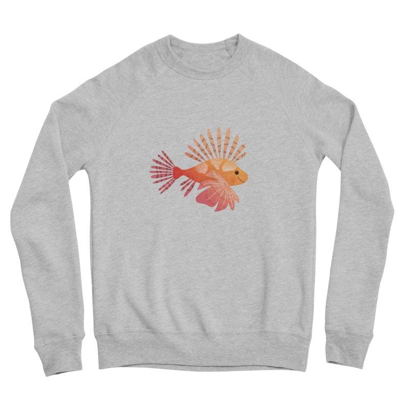 Lionfish Men's Sponge Fleece Sweatshirt by theladyernestember's Artist Shop