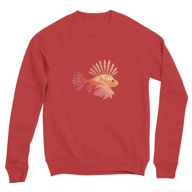 Lionfish Women's Sponge Fleece Sweatshirt by theladyernestember's Artist Shop