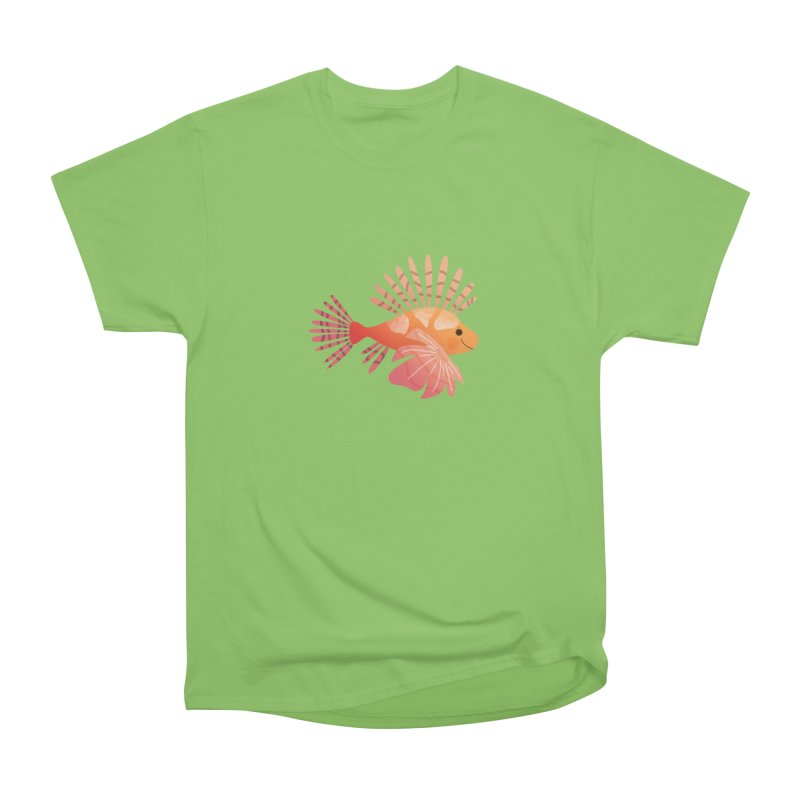 Lionfish Men's Heavyweight T-Shirt by theladyernestember's Artist Shop
