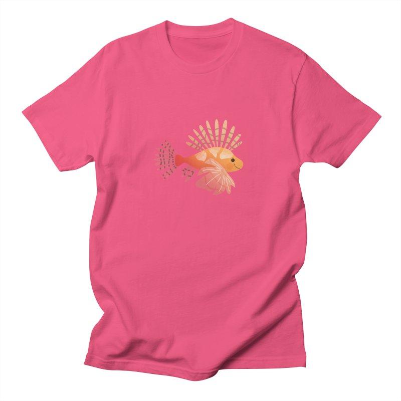Lionfish Women's Regular Unisex T-Shirt by theladyernestember's Artist Shop