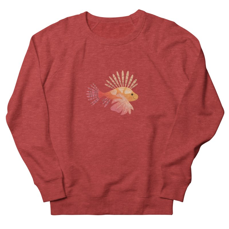 Lionfish Men's French Terry Sweatshirt by theladyernestember's Artist Shop